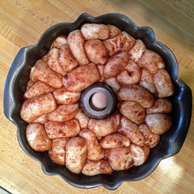 Monkey-Bread-Rising