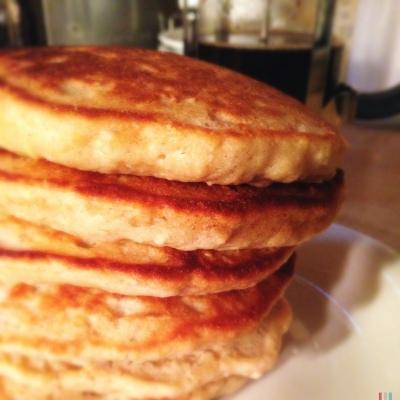 Oatmeal Pancakes 3