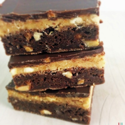 Peanut-Butter-Brownies