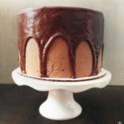 Triple Chocolate Cake 6