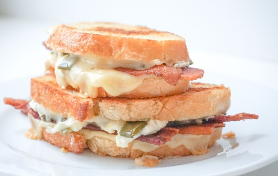 Jalapeno Popper Grilled Cheese with Bacon5