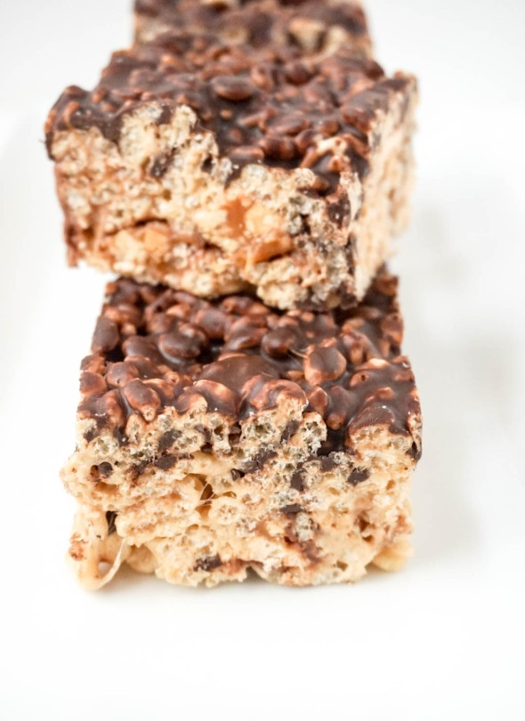 Snickers Rice Krispies Bar