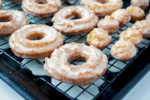 Sour Cream Donuts