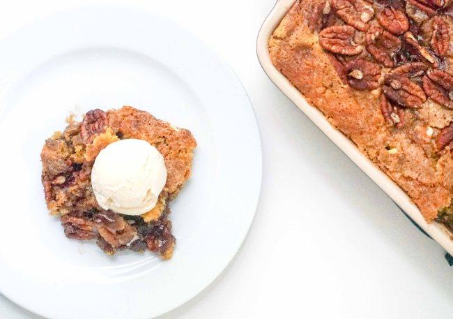 Pecan Dump Cake | neurotic baker