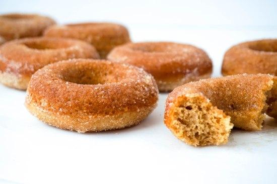 Baked Cinnamon Sugar Donuts