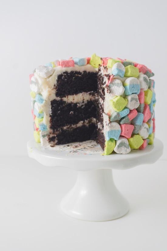 Star Wars Devil's Food Chocolate Cake