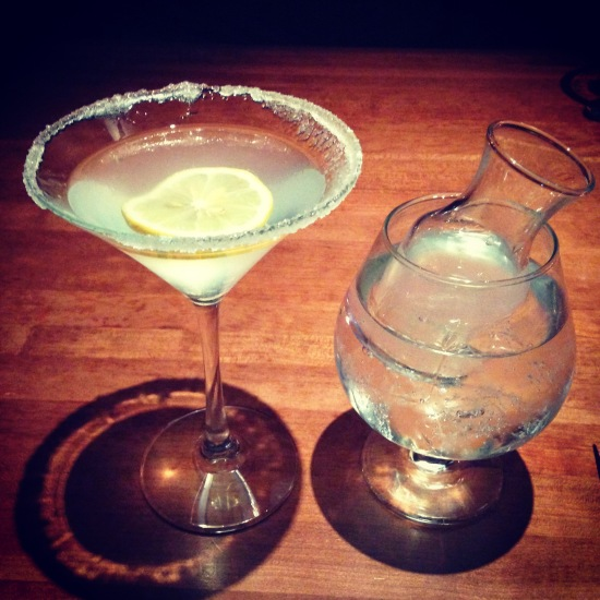 Martini and sidecar