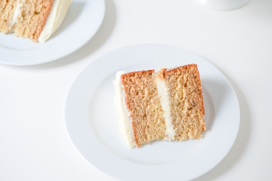 Banana Cake with Cream Cheese Frosting1