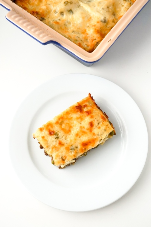 Lamb and Pea Lasagna