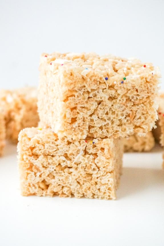 Coconut Marshmallow Treats