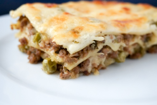 Lamb and Pea Lasagna 2
