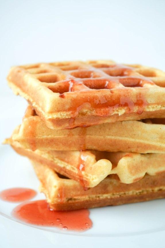 Cornmeal Waffle