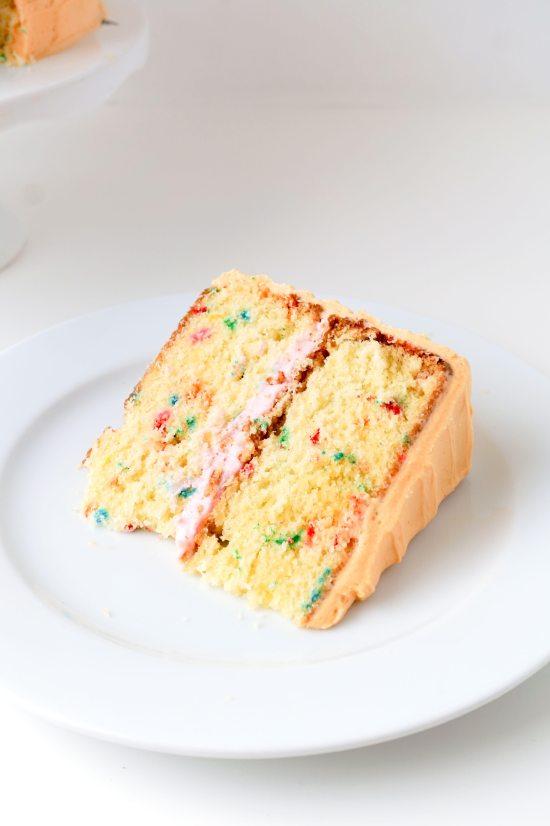 Classic Yellow Funfetti Cake