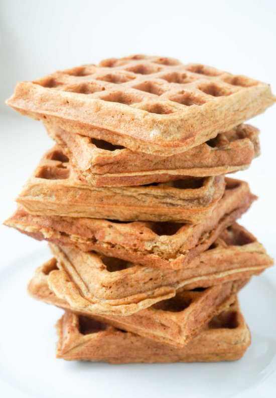 Cinnamon Oat Waffles