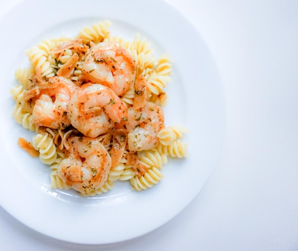 Shrimp Scampi 1