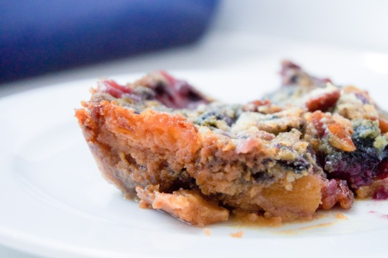 Peach and Blueberry Dump Cake2