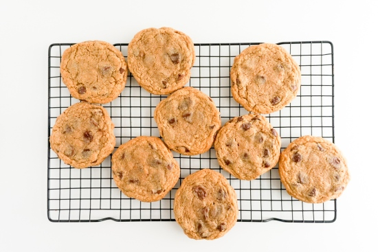 Chocolate Chip Graham Cracker Cookies 4