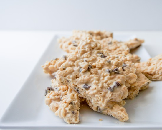 Peanut Butter Rice Krispie Bark3