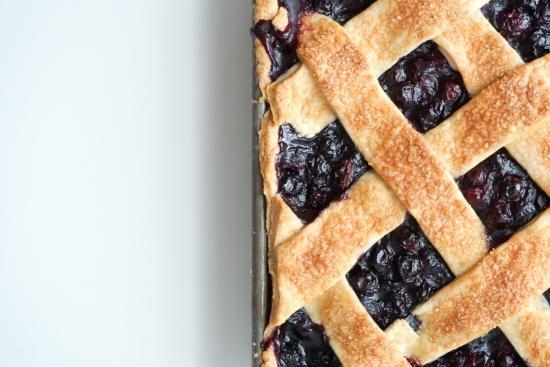 Blueberry Slab Pie with Cornmeal Crust5