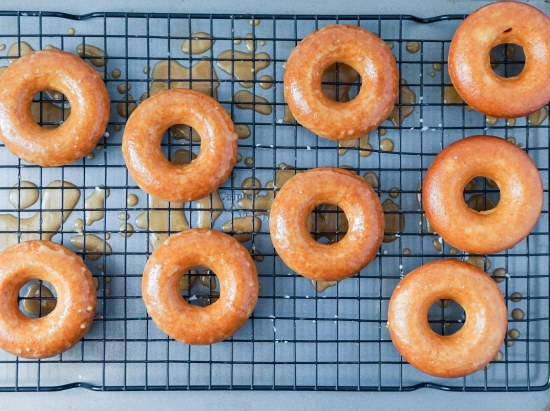 Apple Cider Donuts with Caramel Apple Glaze6