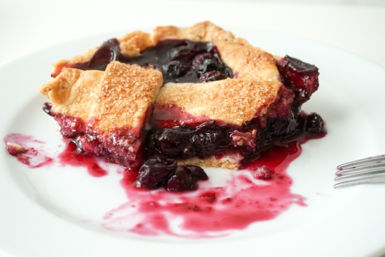 Blueberry Slab Pie with Cornmeal Crust2