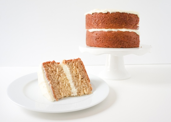 Banana Cake with Cream Cheese Frosting2
