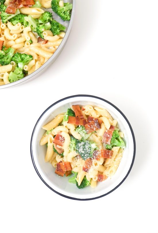Broccoli and Bacon Pasta