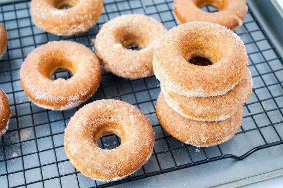 Baked Cinnamon Sugar DonutsSugar Donuts3