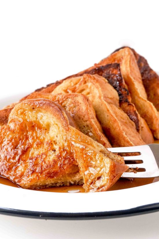 Bourbon Brioche French Toast