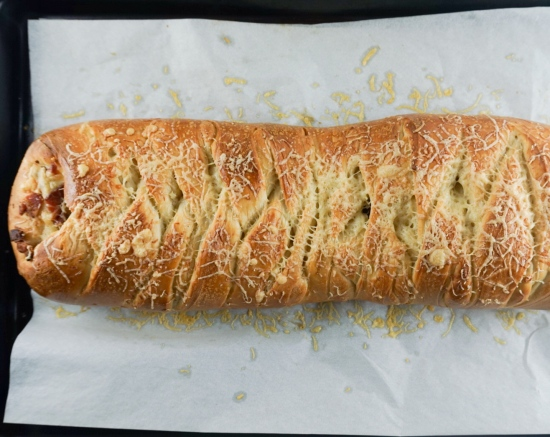 Bacon and Gruyere Bread 3