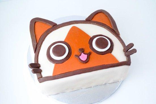 Monster Hunter Felyne Birthday Cake1