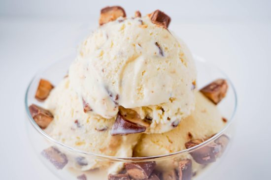 Toffee Crunch Ice Cream | neurotic baker