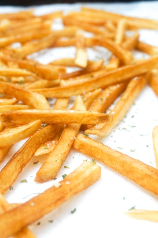 Twice Cooke French Fries