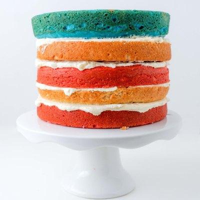 American Flag Cake | neurotic baker