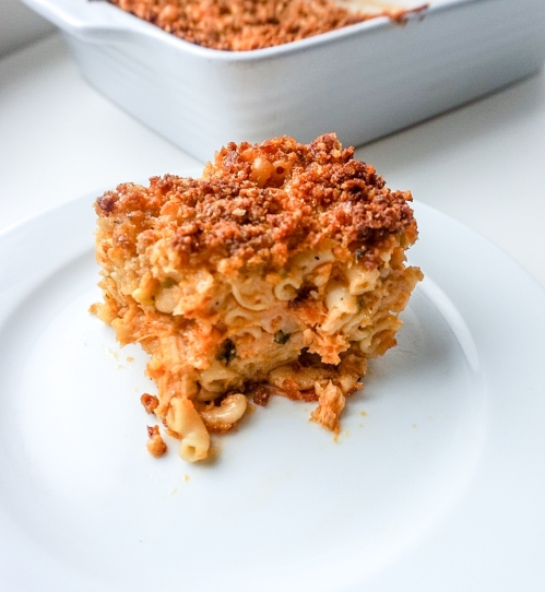 Buffalo Chicken Mac and Cheese 4
