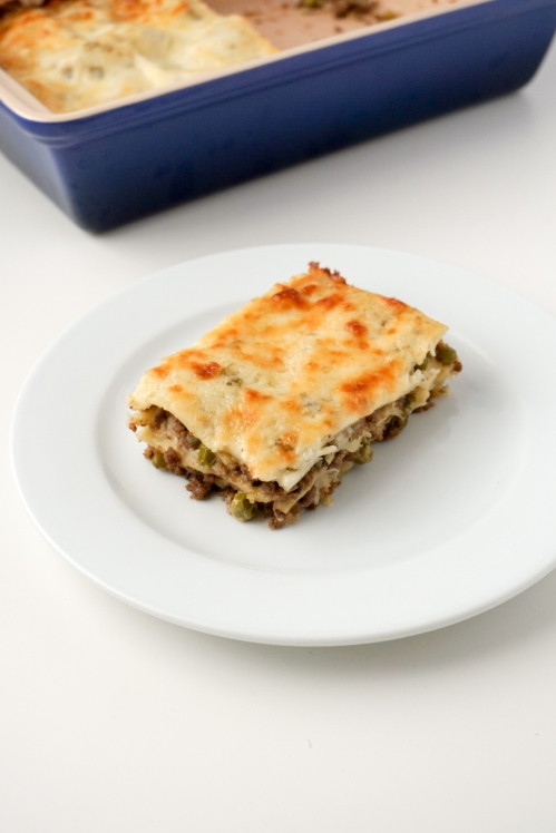 Lamb and Pea Lasagna 4