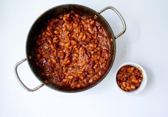 Smokey Three Bean Baked Beans4