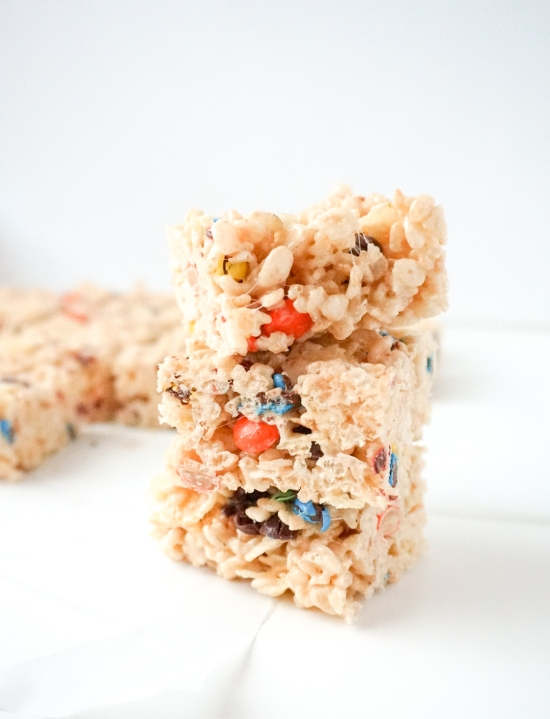 Dumpster Rice Krispies Treats