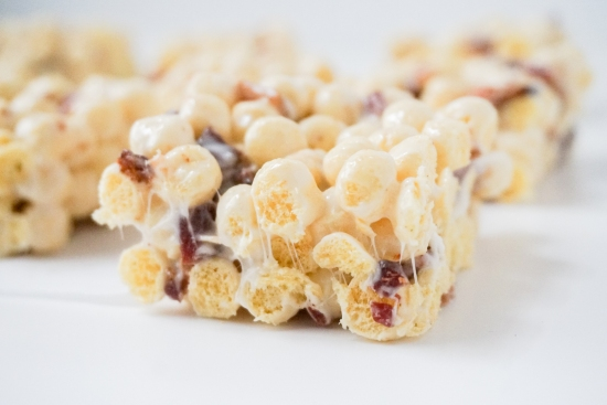 Kix Treats with Bacon | neurotic baker