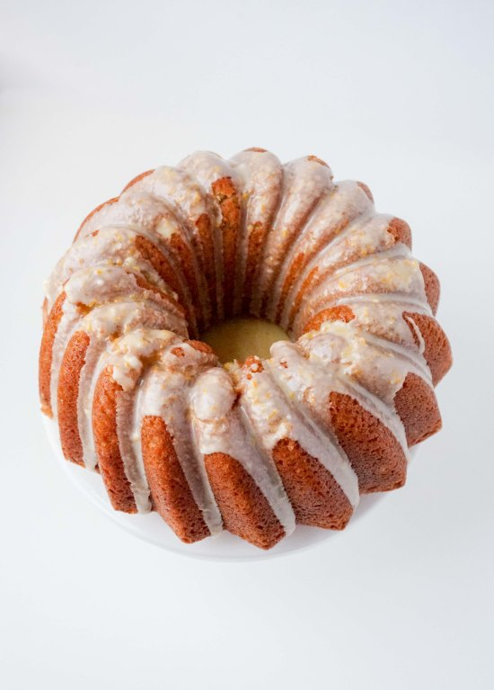 Clementine Cake with Clementine Glaze