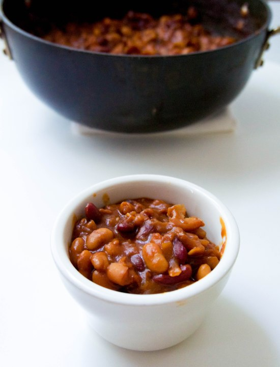 Smokey Three Bean Baked Beans2