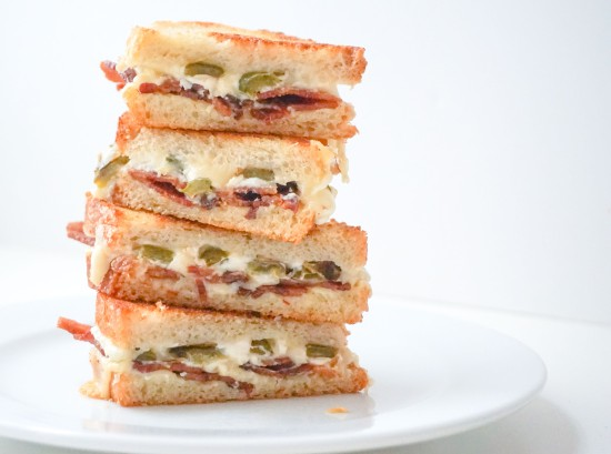 Jalapeno Popper Grilled Cheese with Bacon4