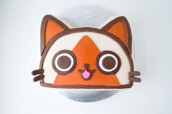 Monster Hunter Felyne Birthday Cake