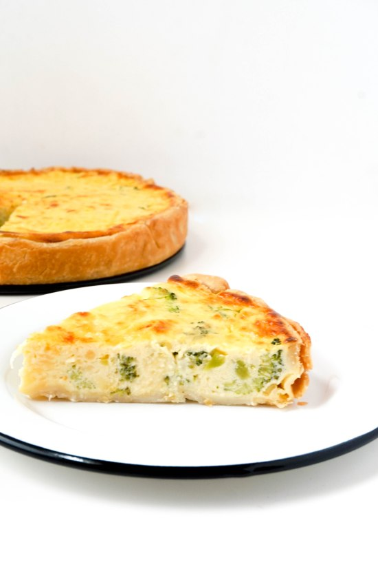 Quick Broccoli Quiche
