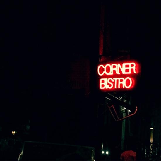Corner Bistro | neurotic baker