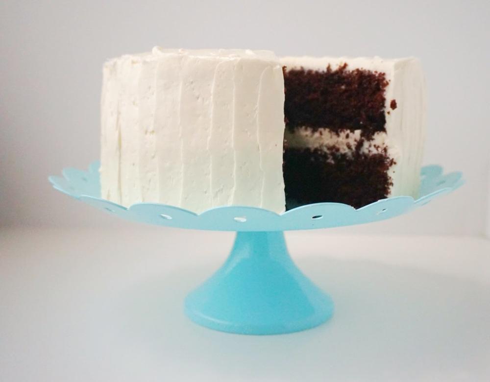 Black & White Cake 4