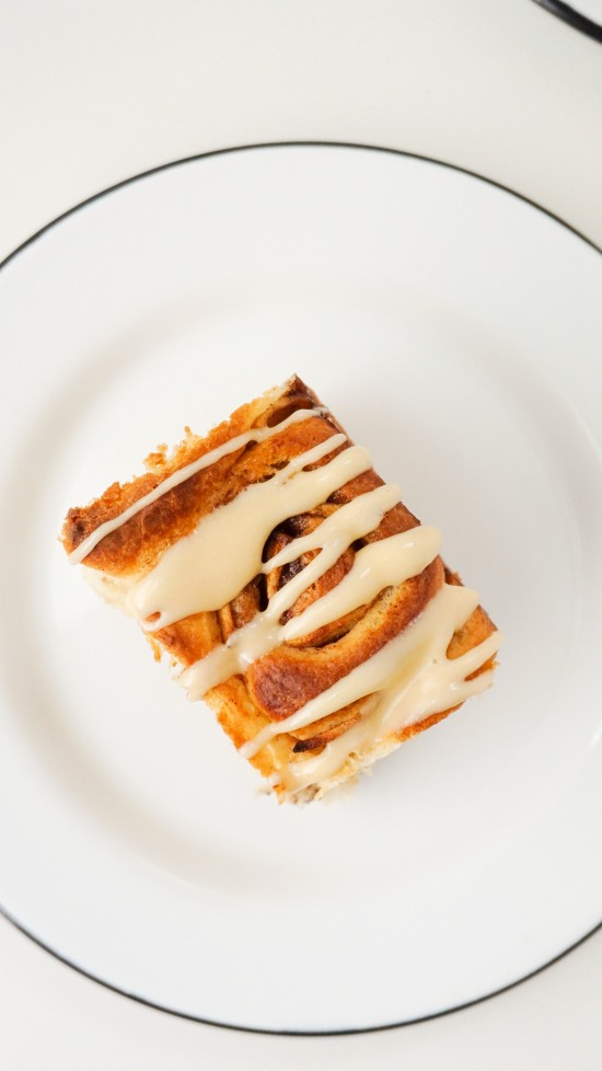 Apple Cinnamon Rolls with Caramel Cream Cheese Icing
