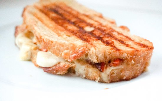 Blackened Salmon Grilled Cheese