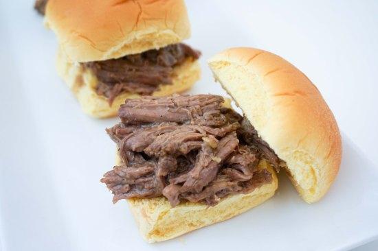 Mississippi Beef Sliders | neurotic baker