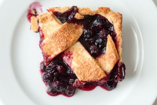 Blueberry Slab Pie with Cornmeal Crust3